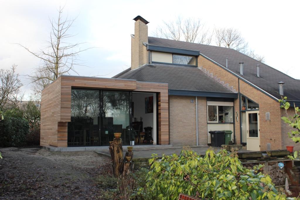 Aanbouw tuinkamer wijngaard volkel for Moderne aanbouw aan klassiek huis