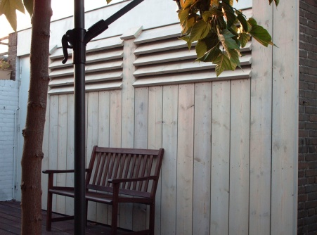 Machinale houtbewerking van gevelbekleding